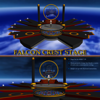 MMD Falcon Crest Stage by Trackdancer