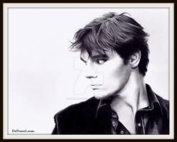RJ Mitte - aka Walt Jr - BREAKING BAD by Doctor-Pencil