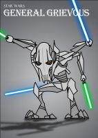 SW Gallery: General Grievous by Xennethy