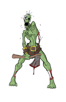 zombie by Lordstevie