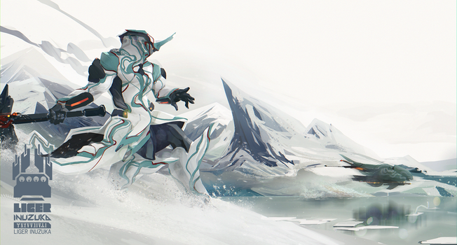 Warframe: Interloper in Frost's Territory by Liger-Inuzuka