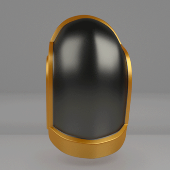 Commission: Daft Punk Glatorian Helm 1 by 0nuku