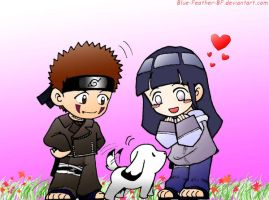 KibaHina: Puppy Love by Blue-Feather-BF