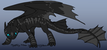 Me as a Night Fury by 6SeaCat9