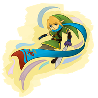 Hyrule Warriors: Link by Chromel