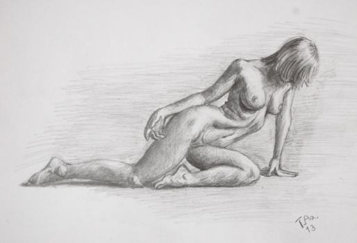 Life drawing studies 2 by zaraki08
