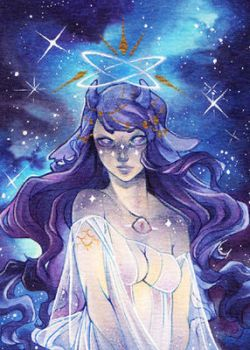 #294. Mother spirit of universe by Zeolith