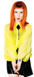 Hayley Williams PNG 2 by suree14