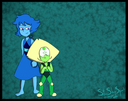 Perry and Lapis by Starshipspiral