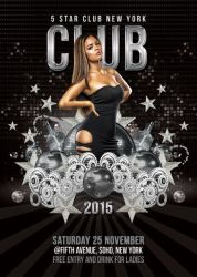 5 Star Club Party Or Celebration by n2n44