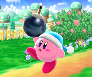 Classic Bomb Kirby by Mario-and-Sonic-Guy