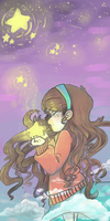 GRAVITY FALLS: The Stars and the Sky by hinataeyes22