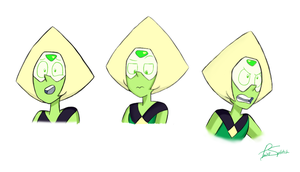 Peridot Test Sketches by Paint-Splotch