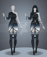 (closed) Auction Adopt - Outfit 495 by CherrysDesigns