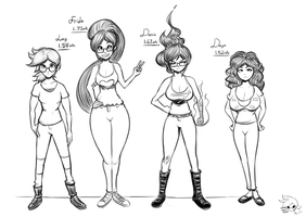 Character references by lucy-fuchs