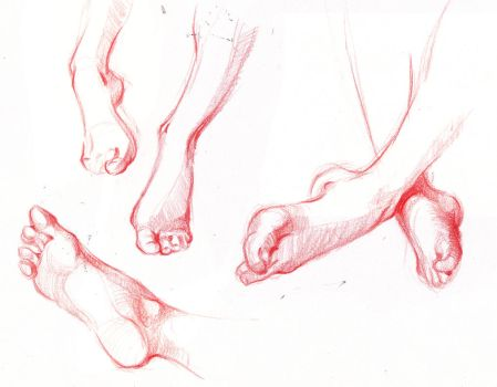 Feet study 4 by bouquiniste