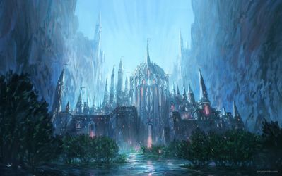 Forgotten Kingdom I by JJcanvas