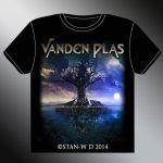 VANDEN PLAS - T-Shirt Model second design by stan-w-d