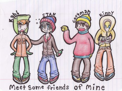 Meet some friends of mine by pinxXchoxii