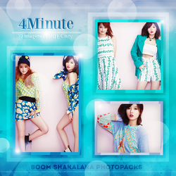 PhotoPack JPG - 4Minute by SameOldLove