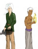 Sabin and Riese by arania