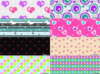 Love Pattern Set 4 by kvaughnp3