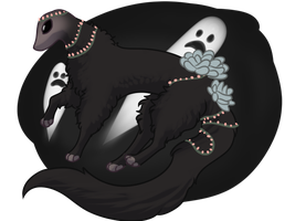 [GIFT] Ghost! by Alcemistnv