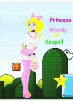 Princess Wendy Koopa V2 by vampirefoxys