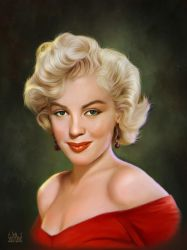 Marilyn Monroe by SoulOfDavid