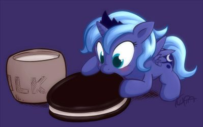 NOM NOM NOM Pony version by Kuraton