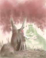 Shadow of the Colossus RedTree by LLucilla