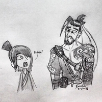 Kubo and Hanzo by P0lyg0nM4n99
