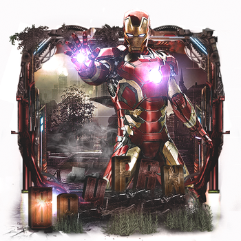 Sign tech - Iron Man by Ghost-Designer