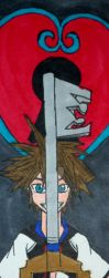The Keyblade Bookmark by InkArtWriter
