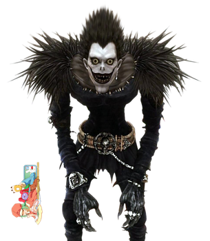 Ryuk (Death Note) LA - Render by azizkeybackspace