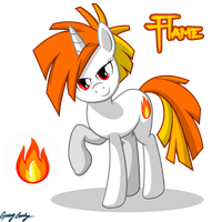[RP Caracter] Flame by GoingLucky