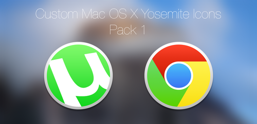 uTorrent and Google Chrome Icons! by MrGoodGriefing