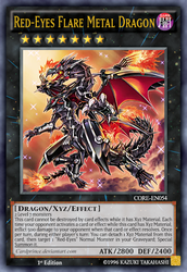 Red-Eyes Flare Metal Dragon by CardPrince