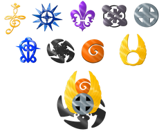 Prize .:Emblems:. original colors by RikaChan3