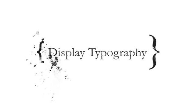 display type by jonight