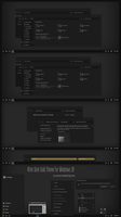 After Dark Gold Theme Win10 Fall Creators by Cleodesktop