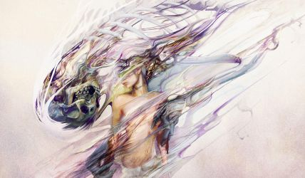 Suddenly Appeared Out of Nowhere by Ryohei-Hase