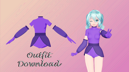 Purple request outfit DL by cat-tom-boy