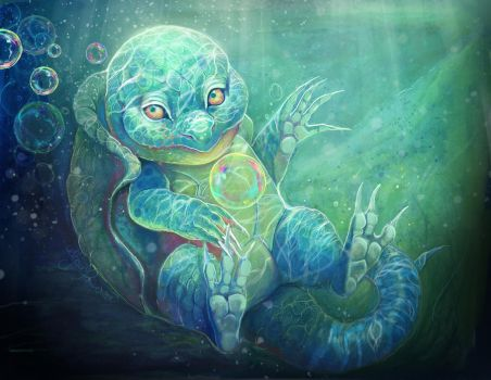 Squirtle by Leashe