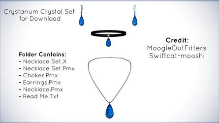 Crystarium Crystal Set for MMD Download by xXFrenchToastXx
