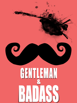 The Gentleman's Tee by Ran2Chaos