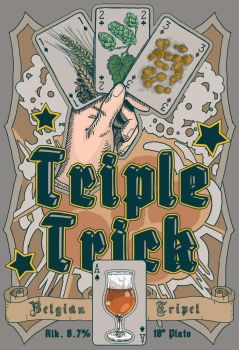 Triple Trick - Beer label by foreest83