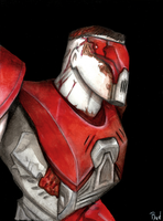 Quake III Arena - Red Visor by Rod-Wolf