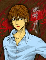 DEATH NOTE - Yagami Light by seiya712
