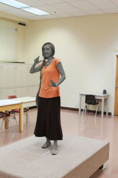 Statue for art class by statue-maker